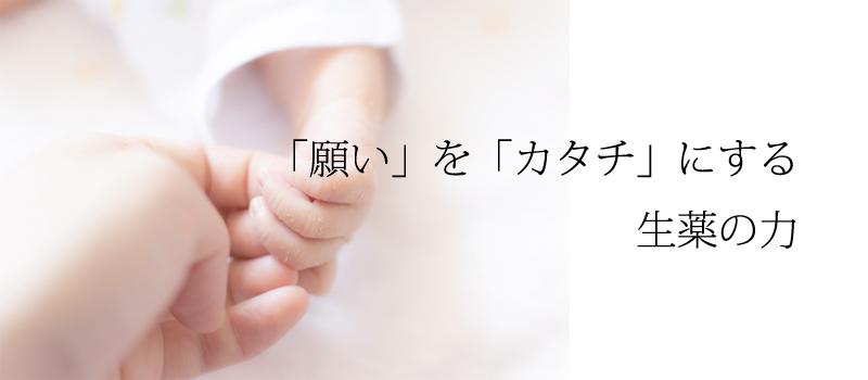 不妊症を漢方薬で改善する